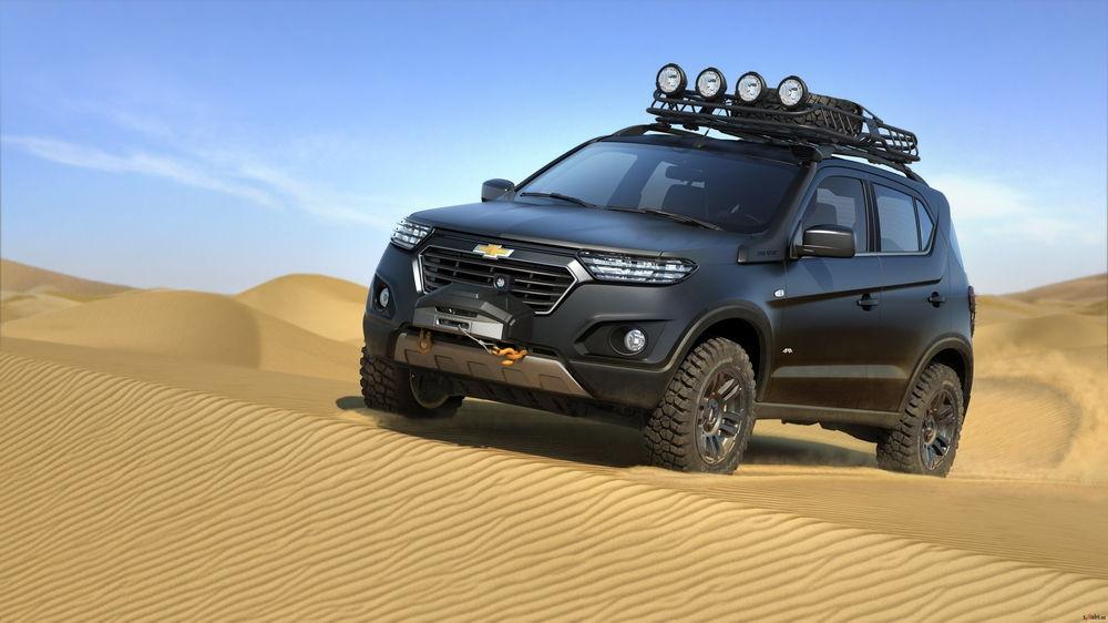 Современная вариация Нивы, разработанная совместно с General Motors
