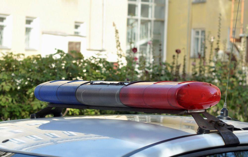 Мигалка полицейского автомобиля