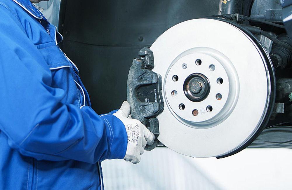 Проверка тормозных дисков