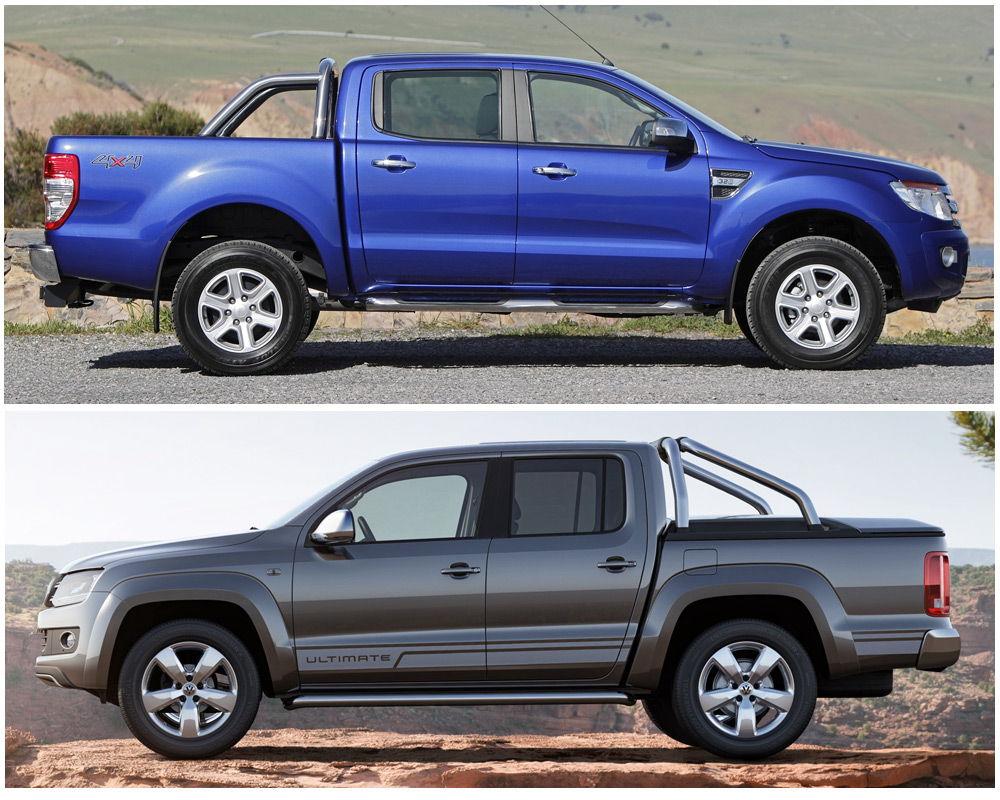 Ford Ranger и Volkswagen Amarok