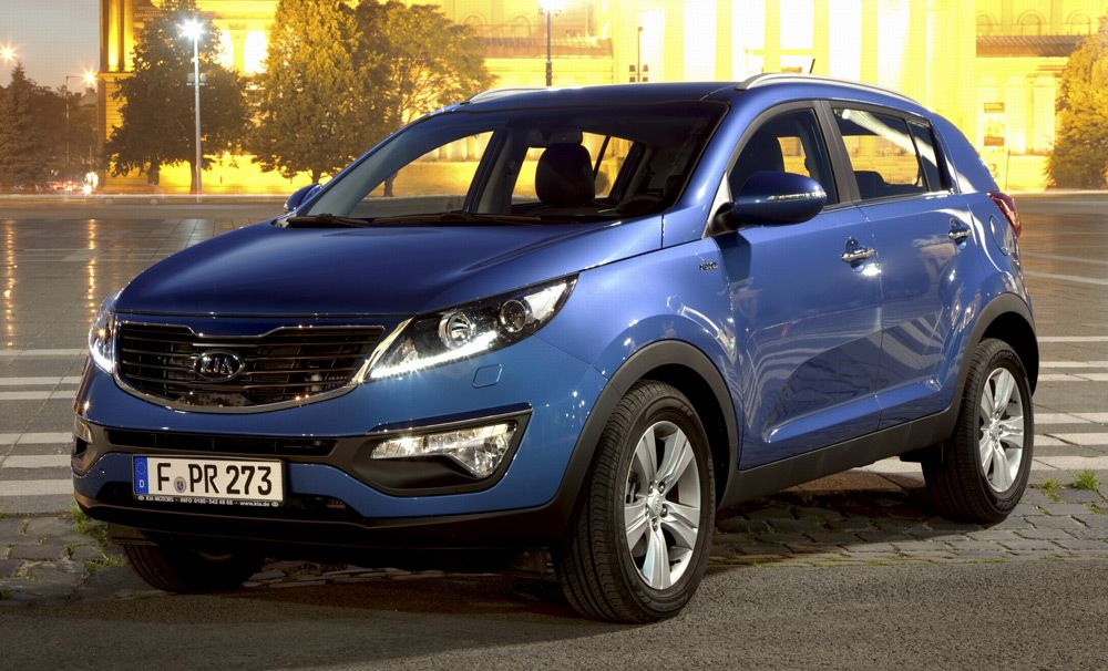 Kia Sportage 2.0 D AT 4WD Luxe