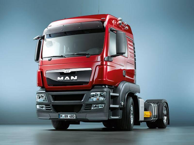 MAN TGS грузовик
