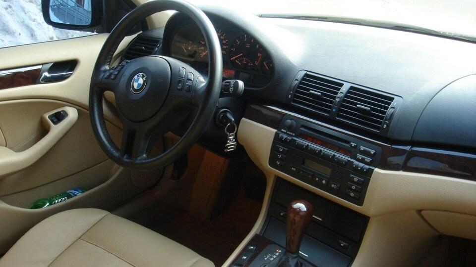 BMW 3 E46 салон