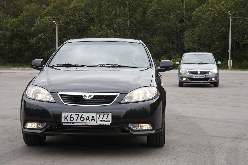 Daewoo Gentra и Renault Logan