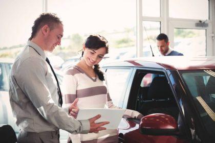 Покупка автомобиля салон