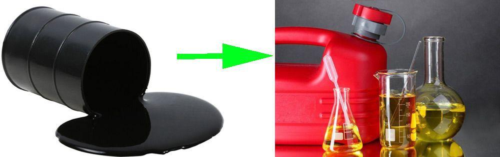 Как сделать бензин в домашних условиях своими руками