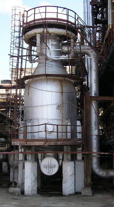Установка для риформинга нефти