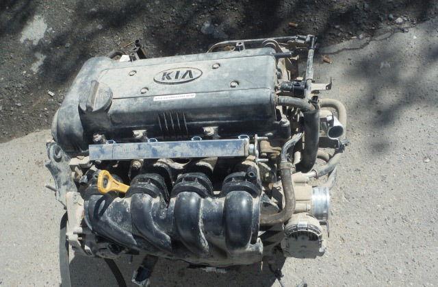 Киа Рио двигатель 1,6
