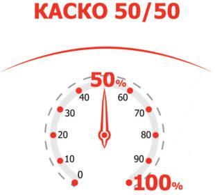 КАСКО 50/50