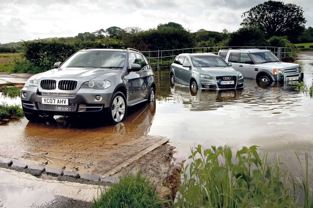 Bmw x5, Audi Q7, Land Rover