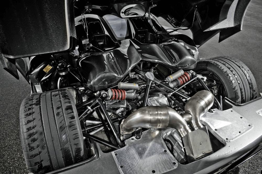 Конструкция суперкара Koenigsegg Agera R