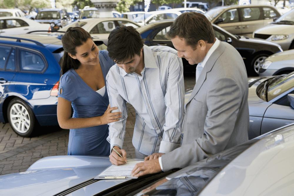 Оформление документов на новое авто