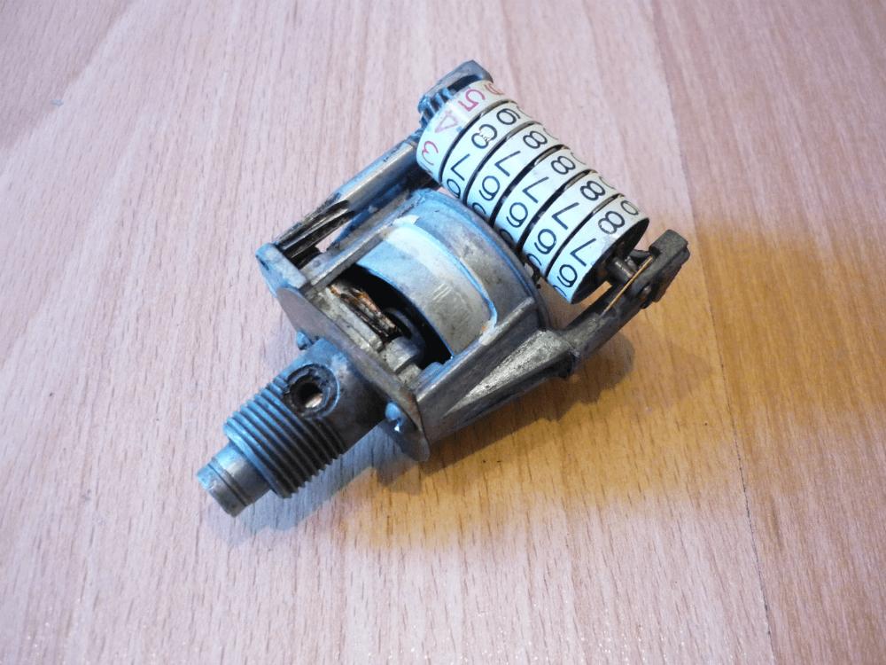 Механический одометр