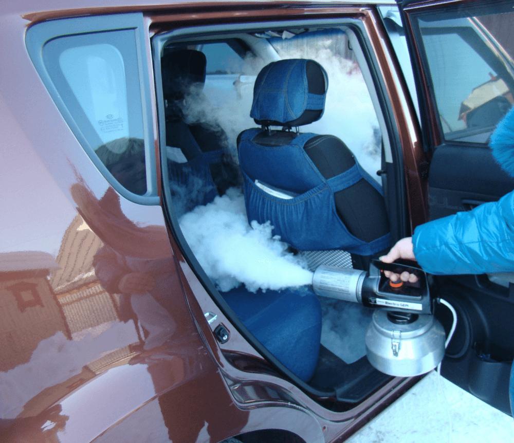 Удаление запаха в авто