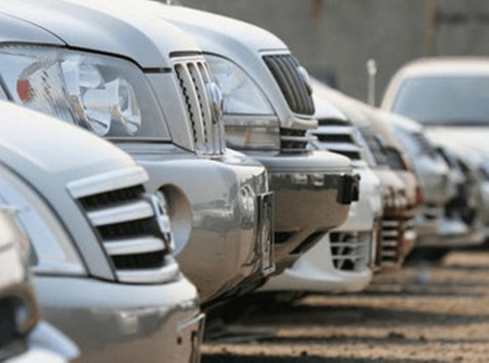 Стоянка автомобильного ломбарда