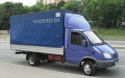 Автомобиль Газель для грузоперевозок