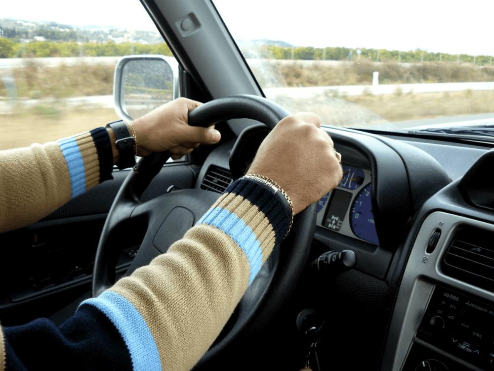 Езда за рулем автомобиля
