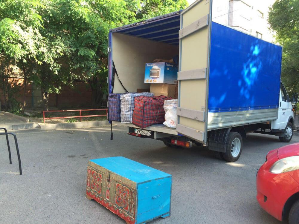 Помощь с переездом на Газели