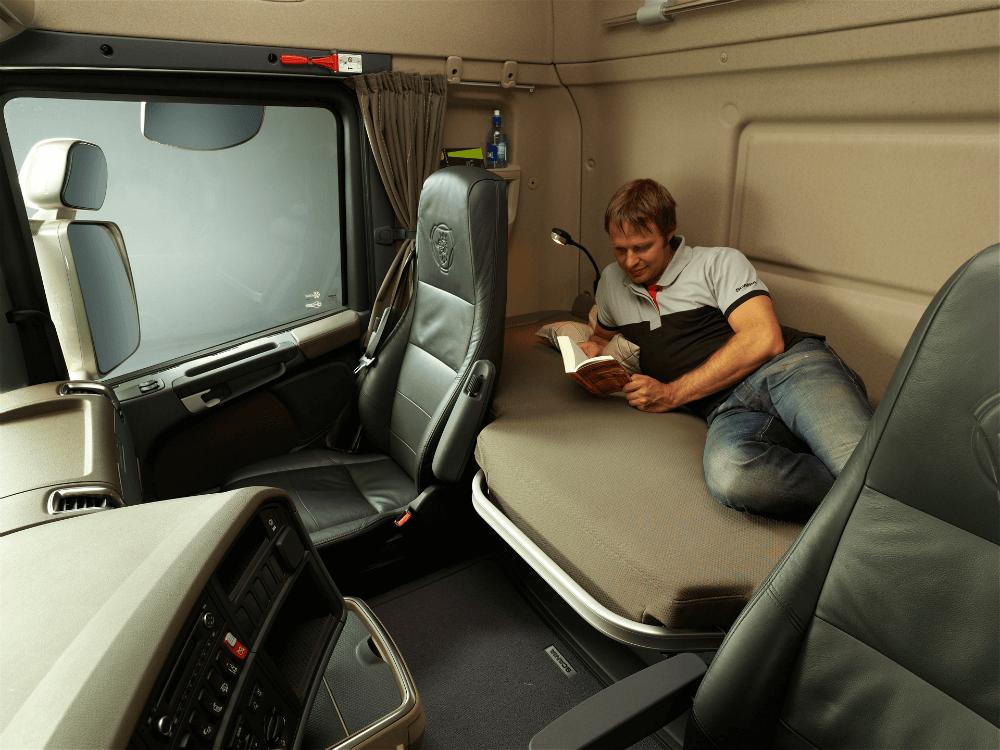 Место для сна и отдыха водителя
