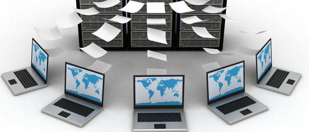 Связь компьютеров с базами данных