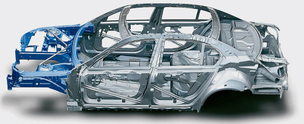 Кузов легкового автомобиля