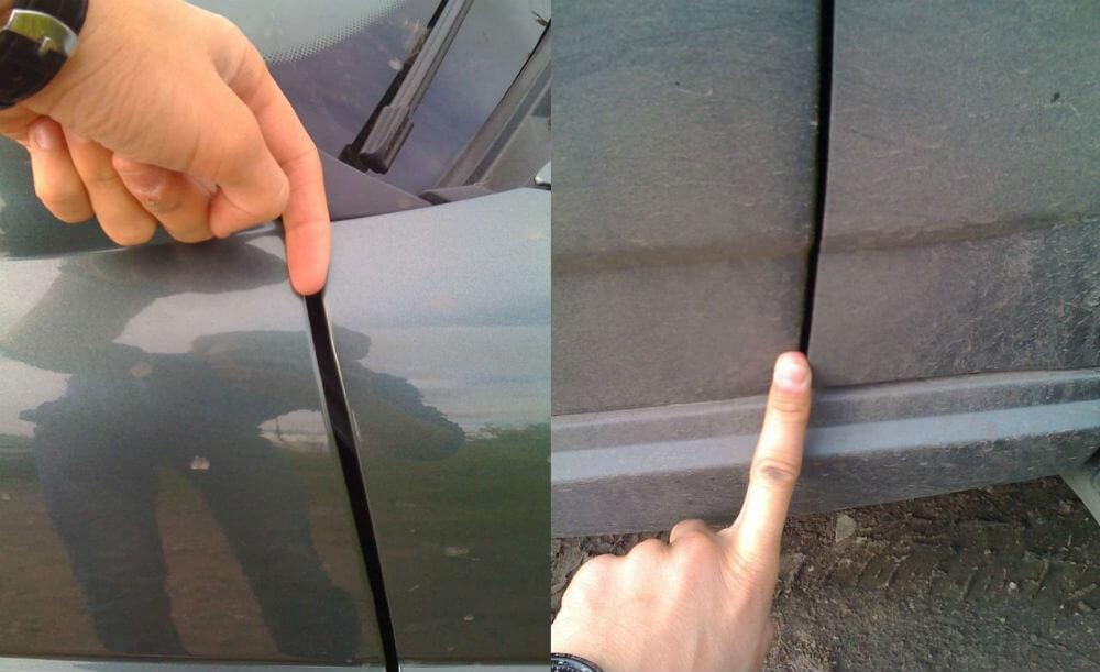 Зазоры кузова автомобиля