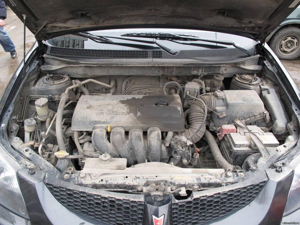 Масло на двигателе