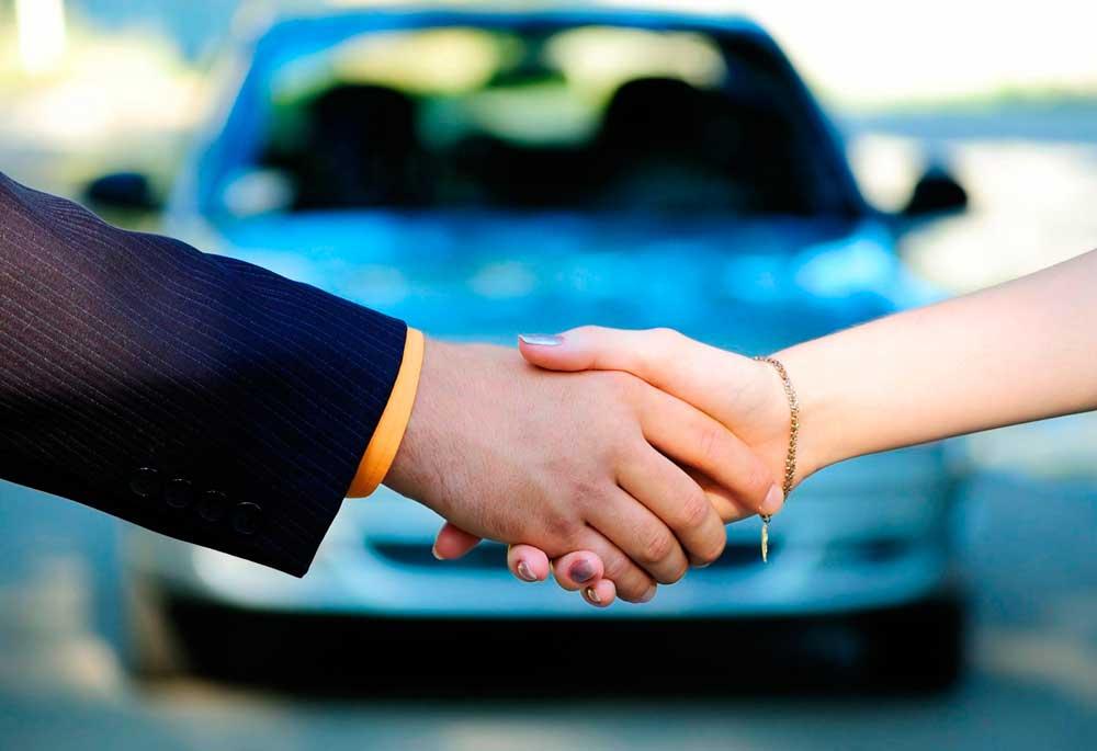 Рукопожатие автомобилистов