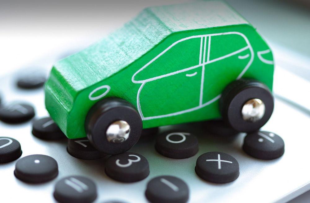 Зеленая карта автомобиля
