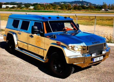 Dartz Gold Aladeen Edition Prombron