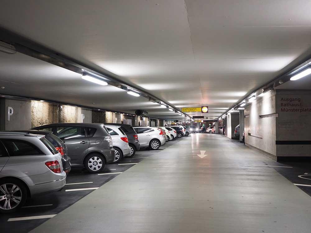 Паркинг для машин