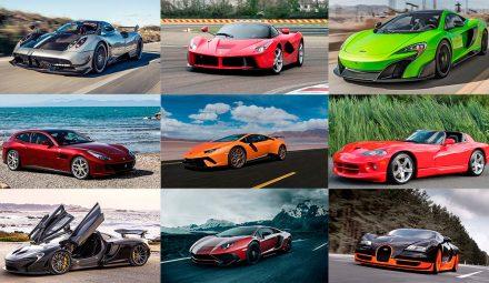 Лучшие автомобили в рейтинге суперкаров мира
