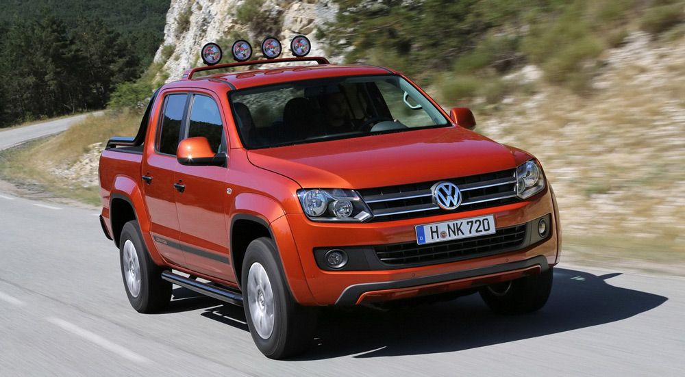 Внешний вид автомобиля Volkswagen Amarok