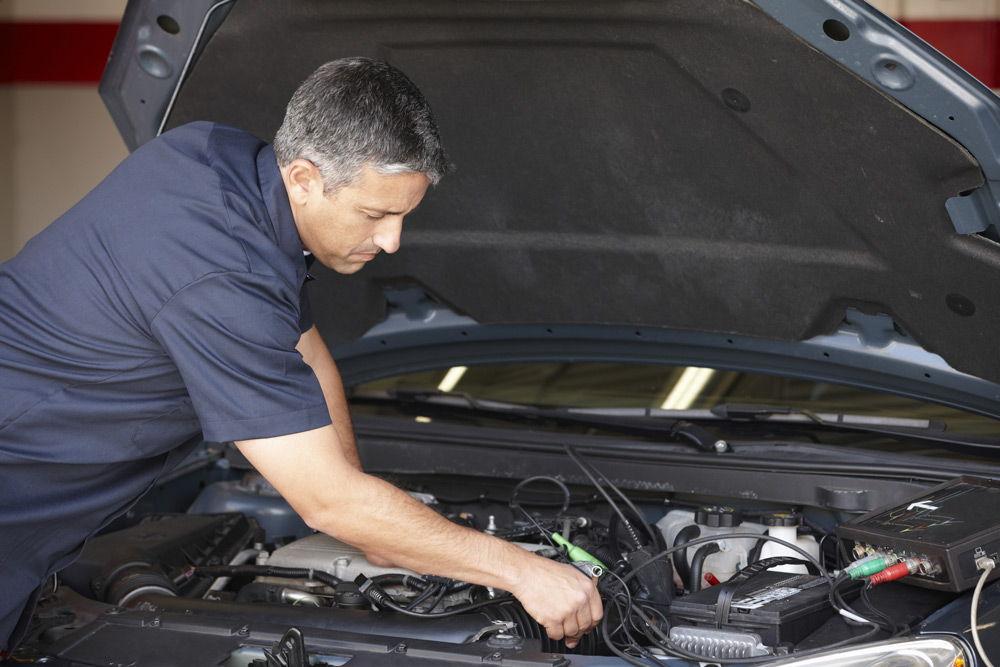 Проверка автомобиля