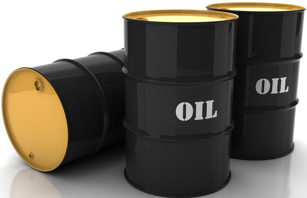 Нефть в бочках