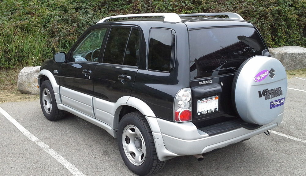 Suzuki Grand Vitara 2005 года сзади