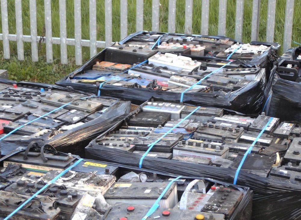 Старые аккумуляторы на утилизацию