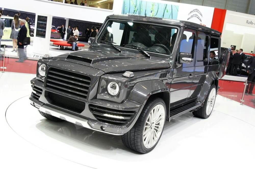 Mercedes Benz G55 Mansory G-Couture