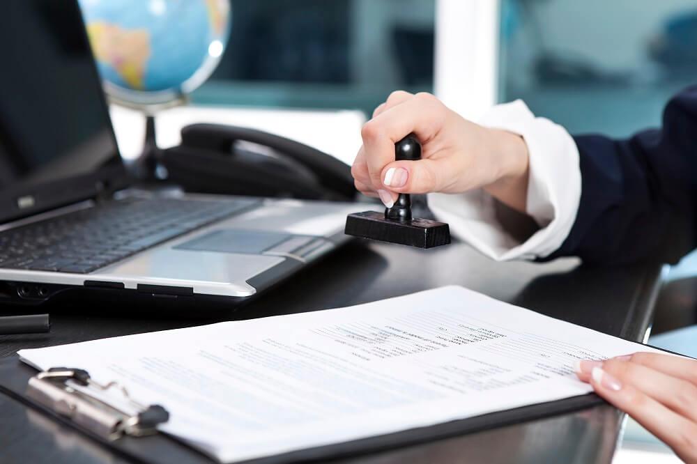 Предоставление услуг, составления справки счёта