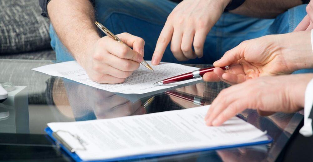 Составление справки счета двумя участниками сделки