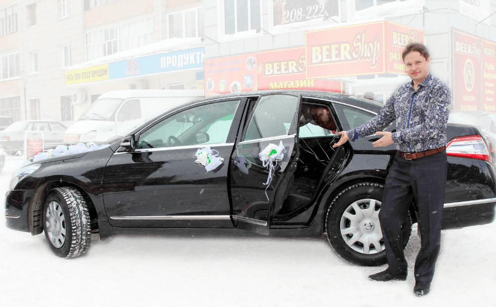 Водитель для свадебного автомобиля