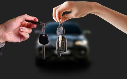 Обмен автомобиля ключ на ключ