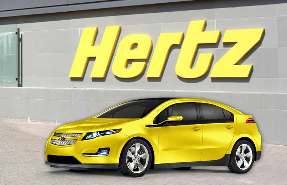 Hertz прокат авто