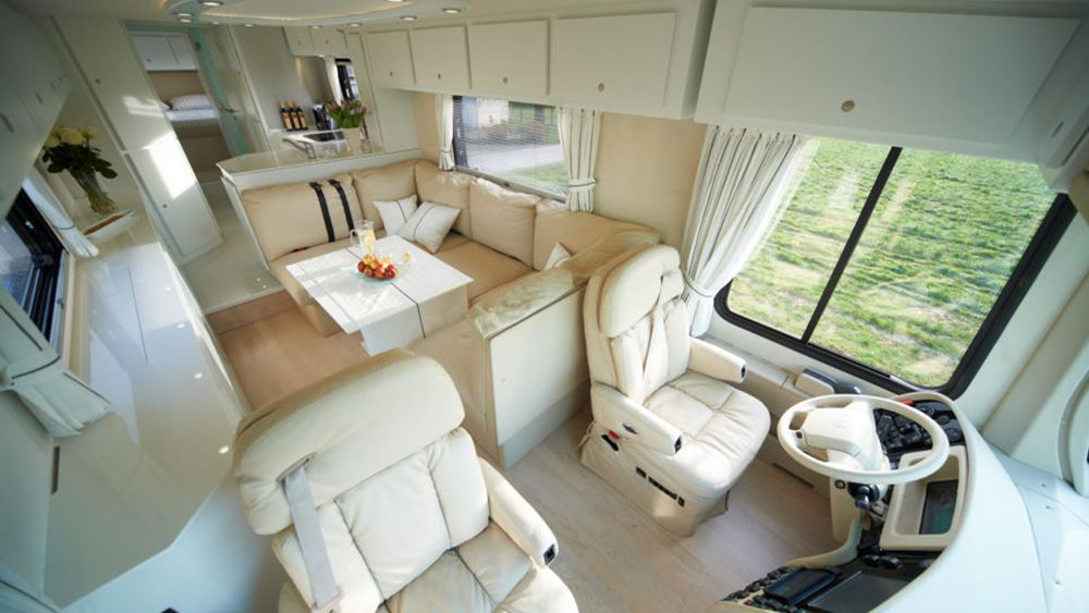 Спальное местоVolkner Mobil Perfomance Bus