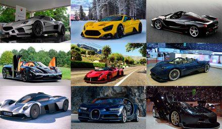 Топ самых дорогих машин в мире