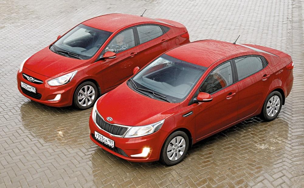 Kia Rio и Hyundai Solaris