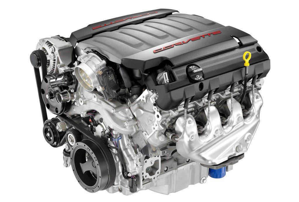 Бензиновый двигатель