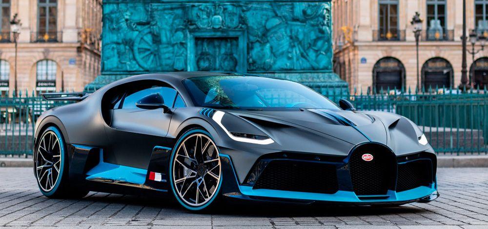 Bugatti Divo car