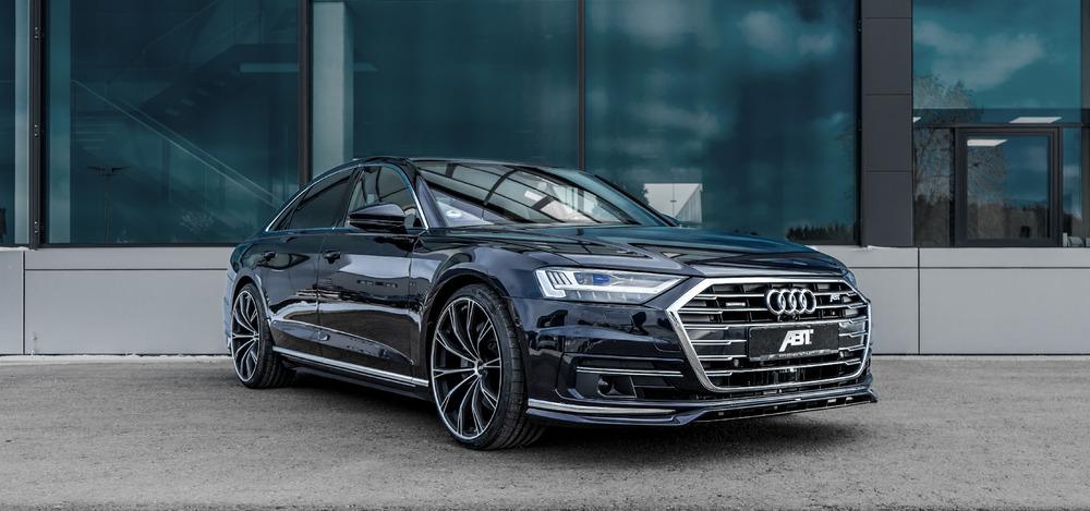 Audi A8 серая