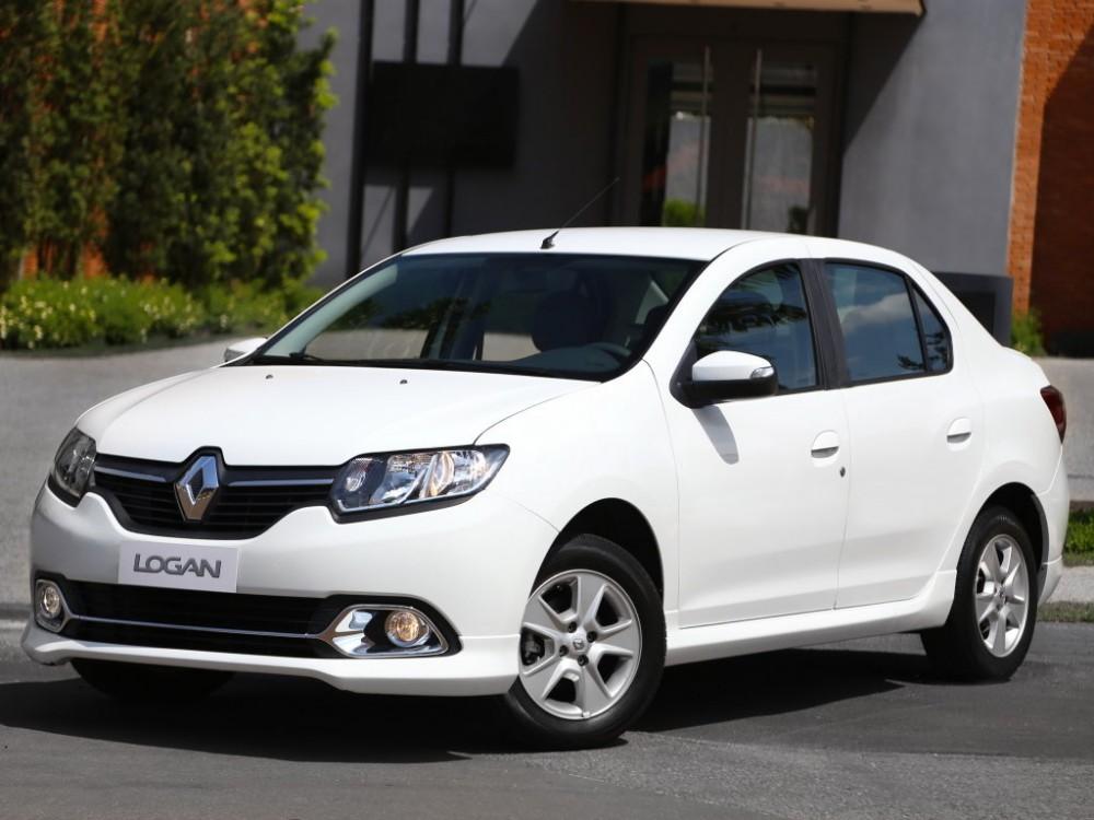 Машина Renault Logan